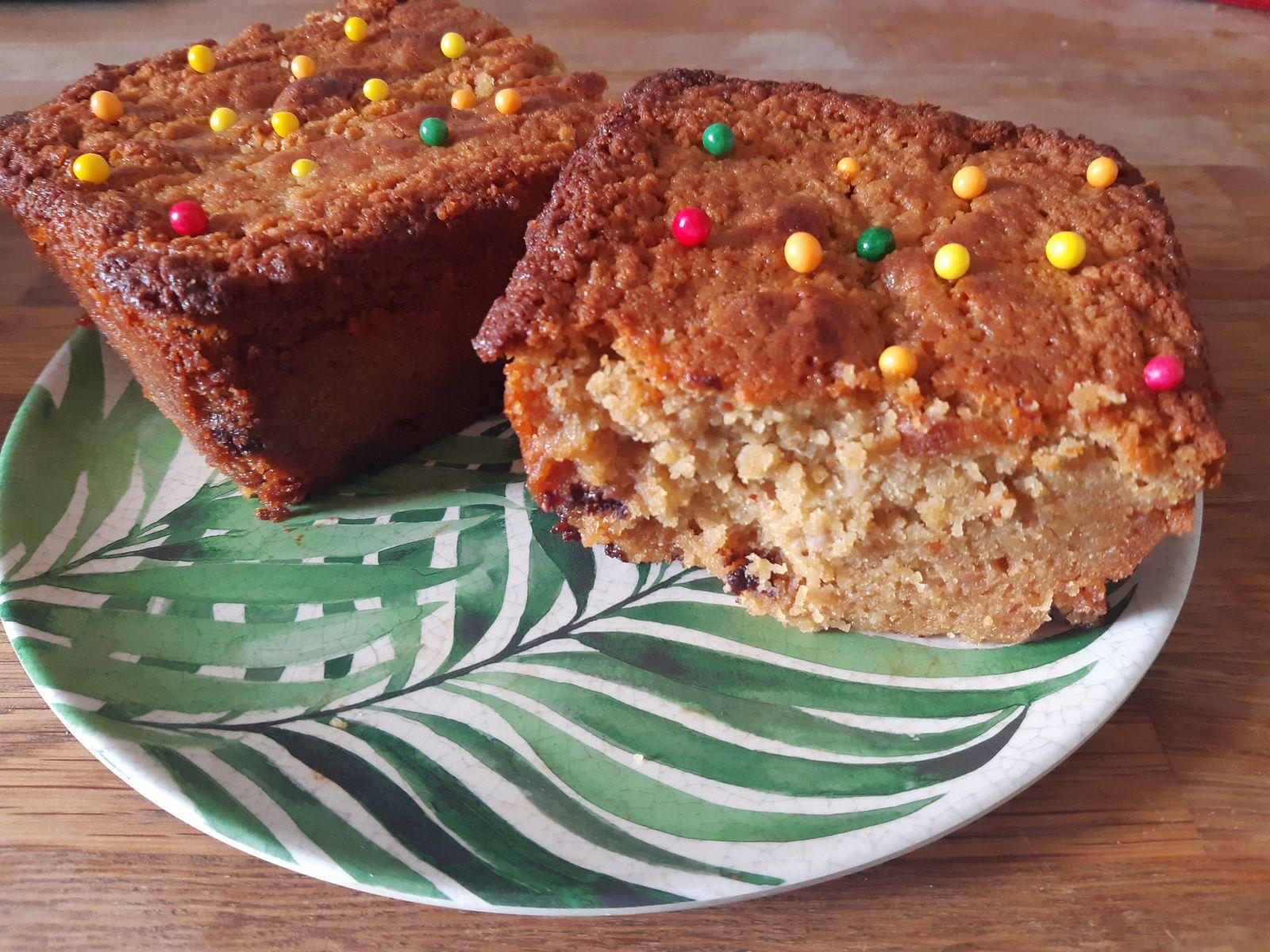 Cake poires / chocolat