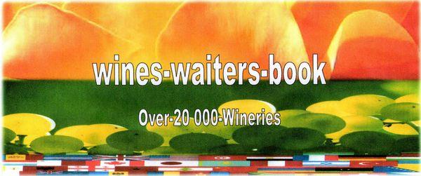 Wines waiters Book 2014