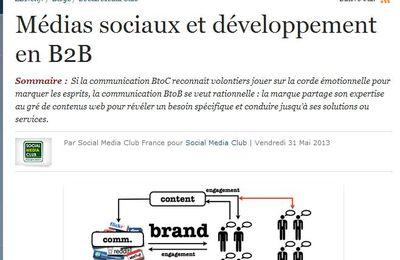 Médias sociaux et développement en B2B