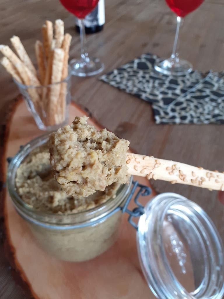 Caviar de lentilles au gingembre