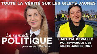 Laetitia Dewalle, porte-parole des Gilets Jaunes (95) dit TOUTE la vérité sur le mouvement dans Le Samedi Politique