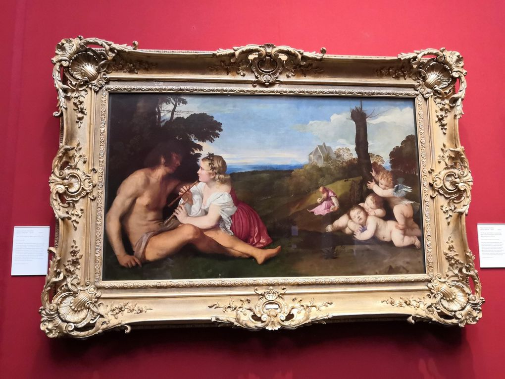 Titian (Tiziano Vecellio), The Three Ages of Man, about 1512-14, Oil on canvas