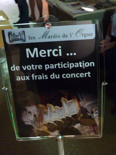 Clarinette et orgue à la cathédrale de Gap