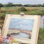Kieron Williamson, peintre prodige, mini-Monet impressionniste ? - Doc de Haguenau