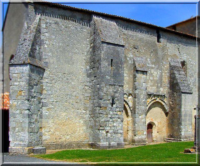 Diaporama église fortifiée de Challignac