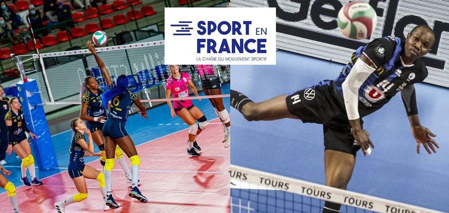 Tours et Nantes à suivre cette semaine en Champions League de Volley sur Sport en France !