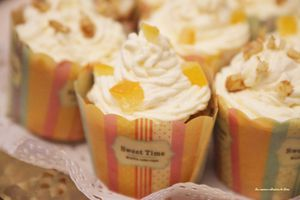 Carrot cupcakes (cupcakes à la carotte)