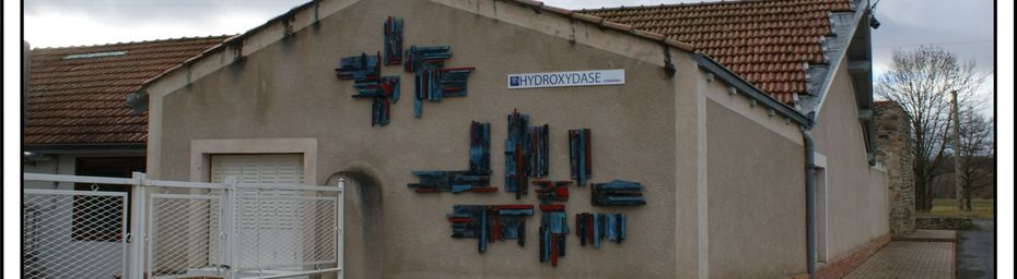 Les sources d'Auvergne:Source Hydroxydase au Breuil sur Couze