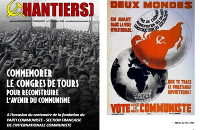 DOCUMENT : Commémorer le CONGRÈS DE TOURS pour reconstruire l'avenir du COMMUNISME