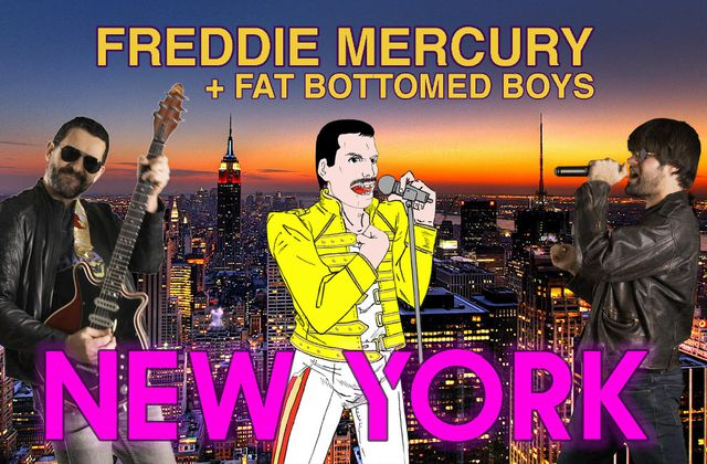 FREDDIE MERCURY DEBAUCHé DE QUEEN PAR LES FAT BOTTOMED BOYS °Via ZIKEO°
