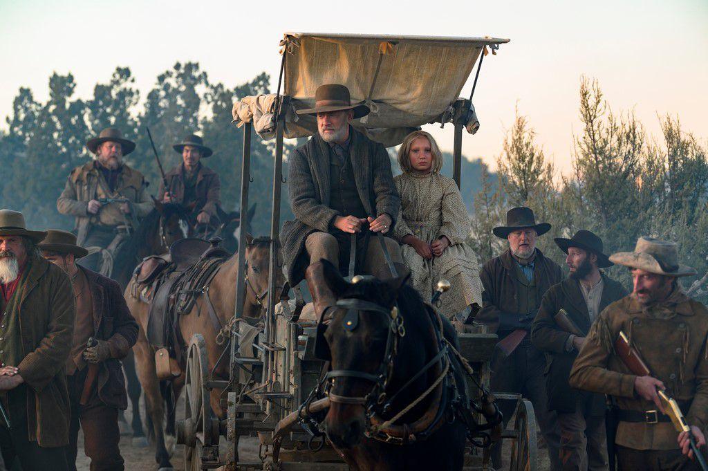 LA MISSION (News of the World) le nouveau film de Paul Greengrass avec Tom Hanks au Cinéma le 6 Janvier 2021