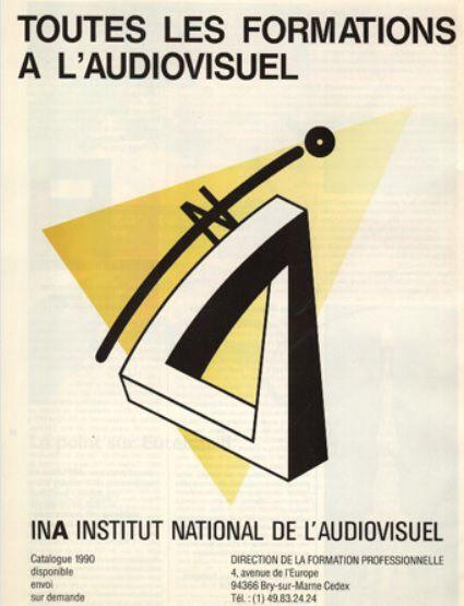 Affiche Institut National de l'Audiovisuel