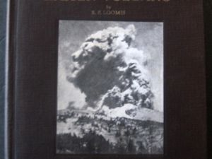Left, Pictorial history of the Lassen Volcano by BFLoomis - right , Lassen Peak photo by Loomis / Doc. University of California - click on image to enlarge