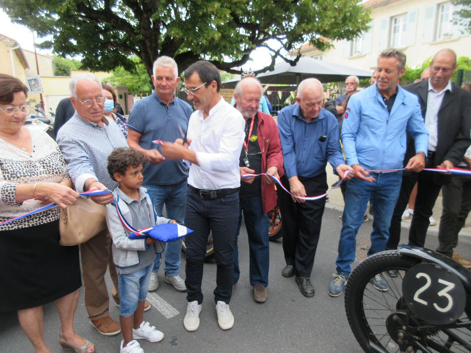 Samedi 7 août 2021- inauguration de la nouvelle ligne de départ du MONT VENTOUX