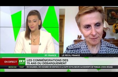 COMMEMORATIONS DU DEBARQUEMENT PAR ANNIE LACROIX RIZ