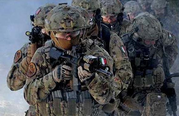 Roma:militari delle Forze Speciali italiane pronti a partire in missione in Sahel