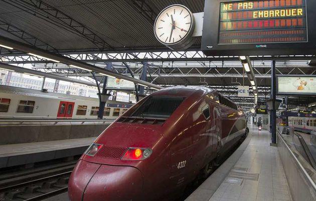 La grève des cheminots massivement suivie en Belgique, le pays paralysé