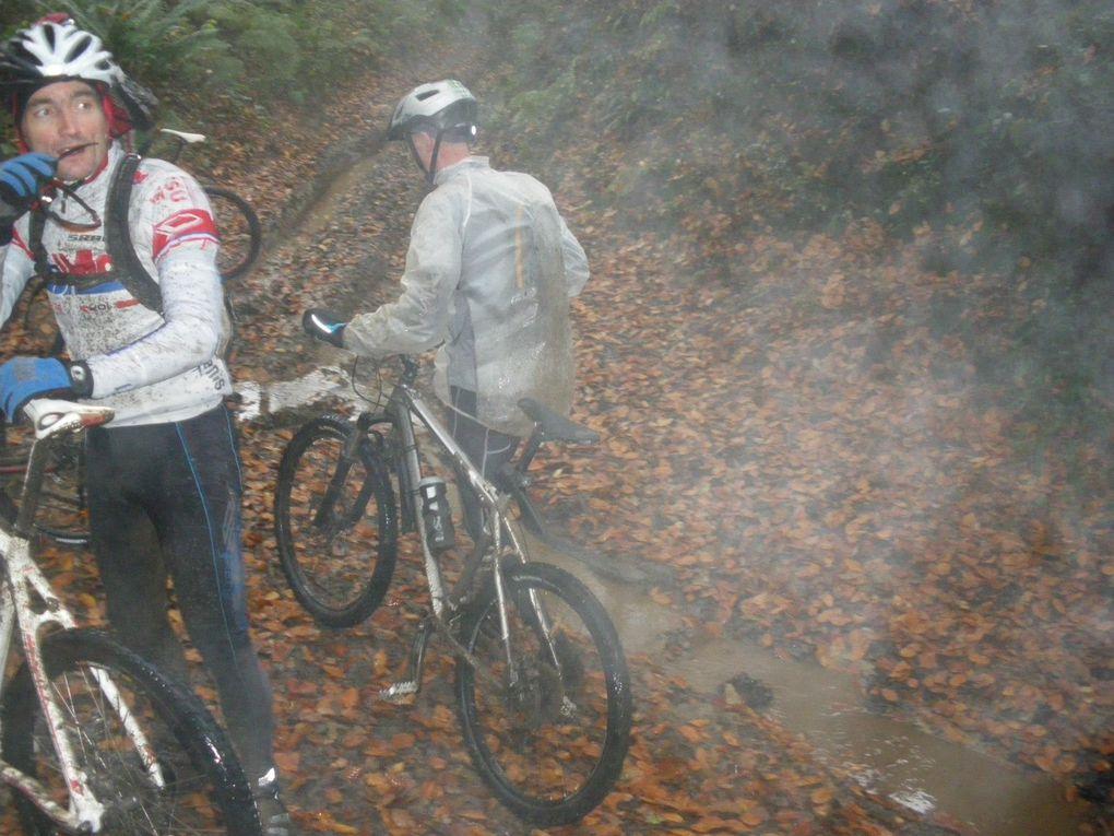 Reconnaissance des Ouvreurs VTT sur le 30 kms le 17/11/2012