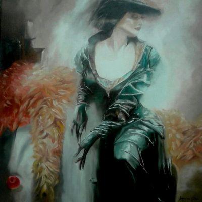 Les peintures de Jacqueline Colbac