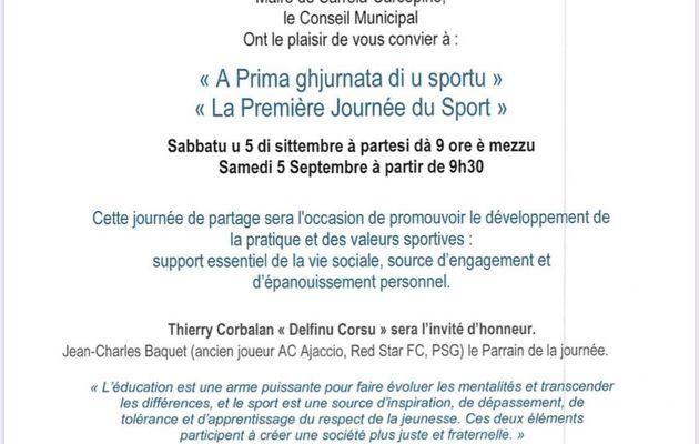 Première journée du sport à Sarrola-Carcopino