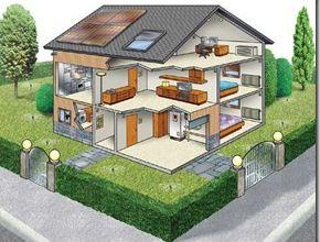 La casa è sempre più tecnologica.