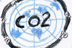 Mappemonde 2: LE CO2 DE TINA...