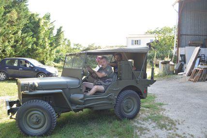 Restauration d'une Jeep HOTCHKISS