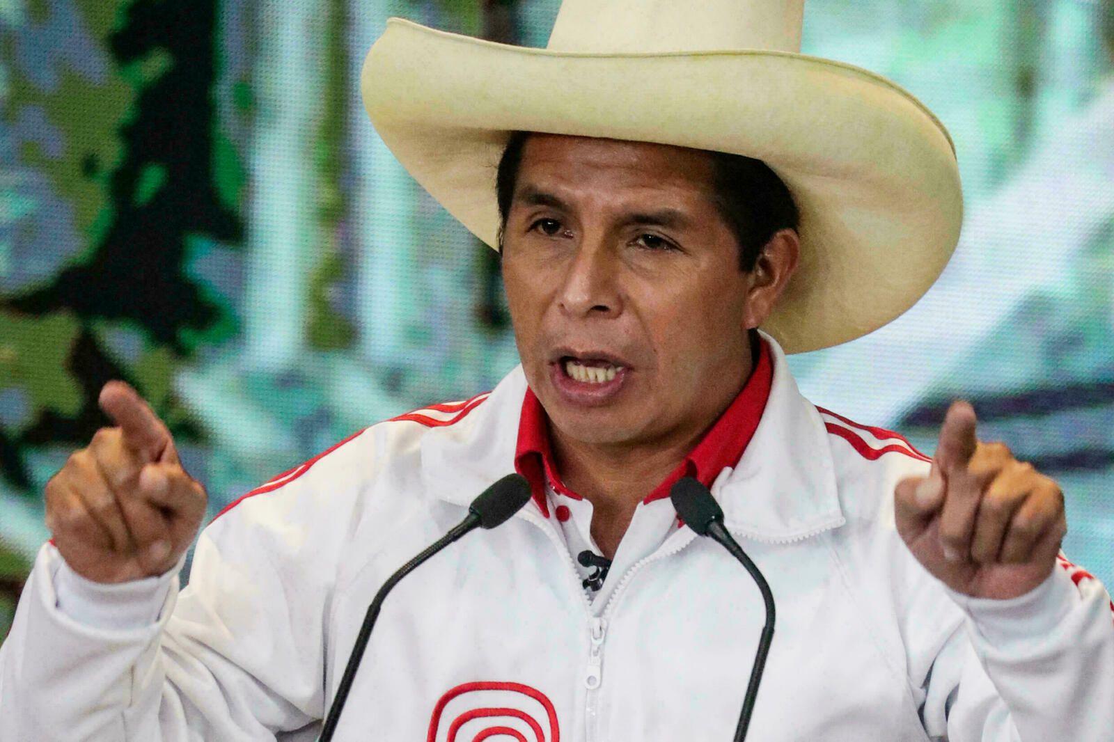 Pedro Castillo, président du Pérou