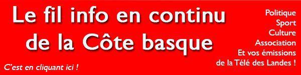 Toute l'info de Bayonne Biarritz Anglet et de la Côte Basque sur Aquitaine Infos