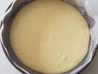 gâteau à la crème pâtissière et sa gelée de fraise