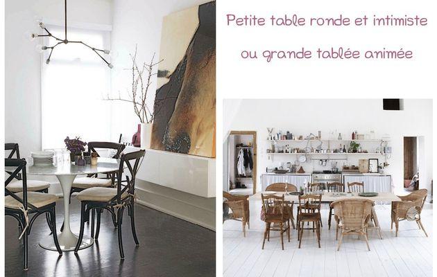 Petite table ou grande tablée