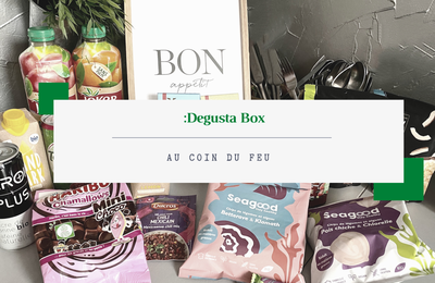 What's in the :DEGUSTA Box : Octobre 2020 - au coin du feu