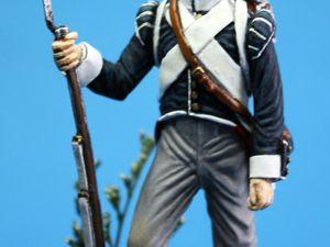 181503 Soldat de la compagnie d'élite du 7 ème Bataillon Belge. 15 €