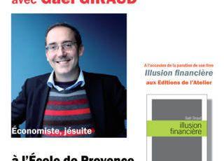 RENCONTRE-DEBAT AVEC GAEL GIRAUD A MARSEILLE LE 16 MAI