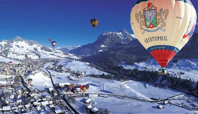 Festival International de Ballons à Château d'Oex en Suisse