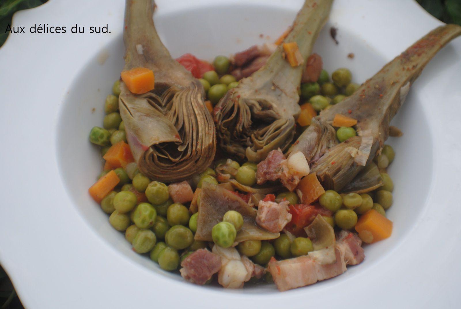 Légumes nouveaux en cocotte .