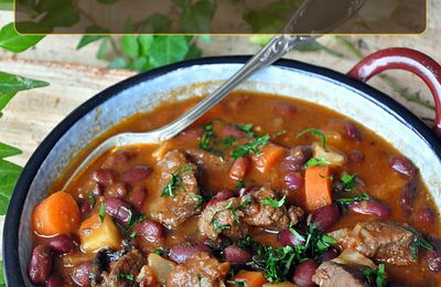 Goulash aux haricots rouges