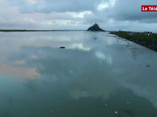 Le Mont Saint-Michel redevient une île ! #video