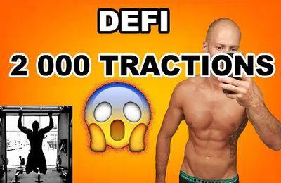 Vidéo - Défi 2 000 tractions en 24h !