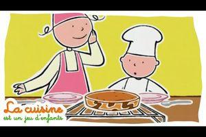 """1/2 Deux délicieux gâteaux de famille/ """"Gâteau marbré""""..."""