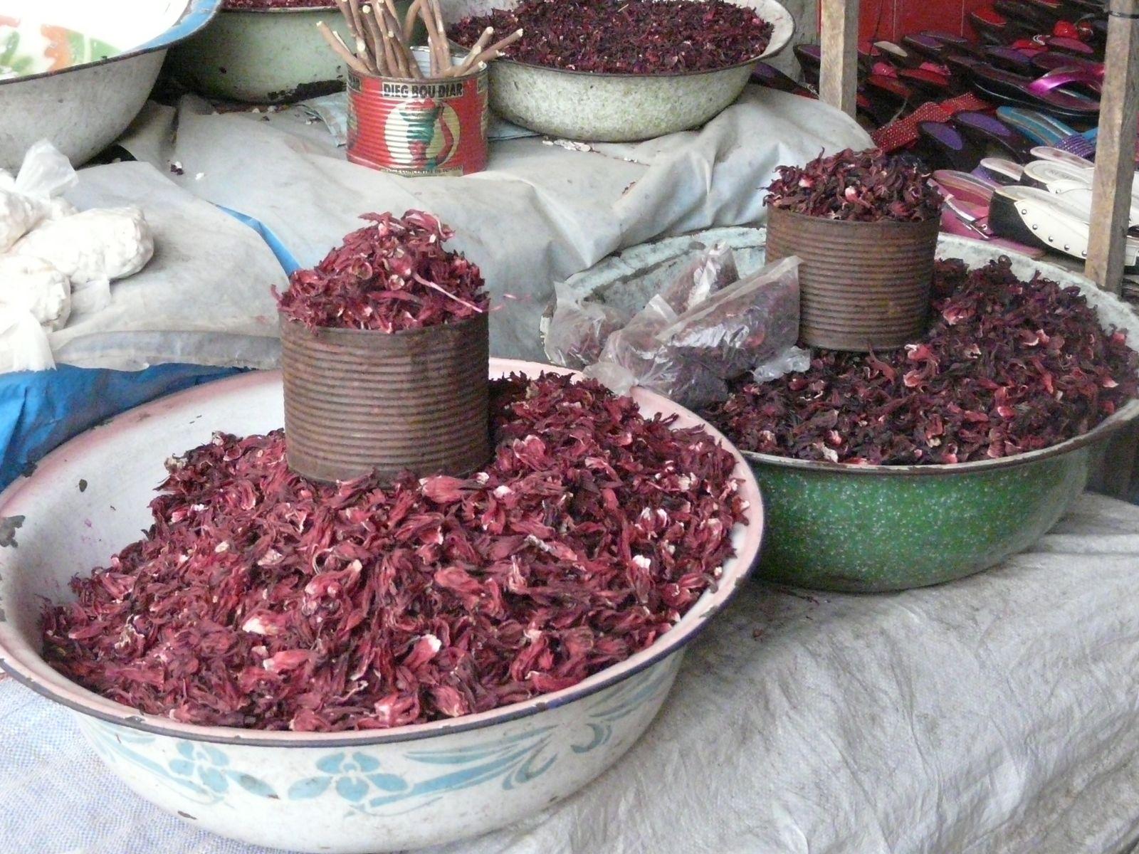 Panna cotta à l'hibiscus - balade africaine
