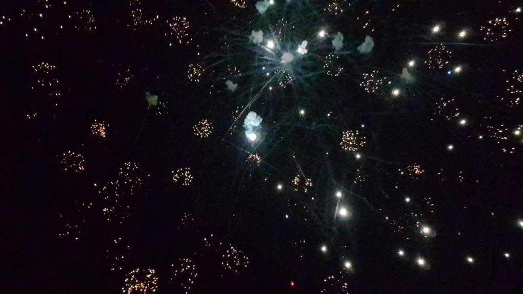 Les photos du feu d'artifice du 13 juillet 2019 à Charron