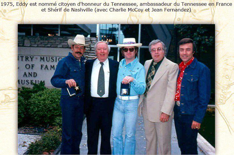 Eddy Mitchell Shérif de Nashville
