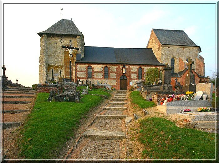 Diaporama église fortifiée de Vigneux-Hocquet