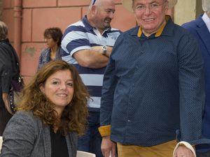 ... Martine Delcamp, Roger Coste, Sylvie Coral, Jean-Louis Coste et Chantal Lévêque.