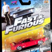 DODGE CHARGER DAYTONA 1969 FAST AND FURIOUS 6 MATTEL 1/55 - car-collector.net