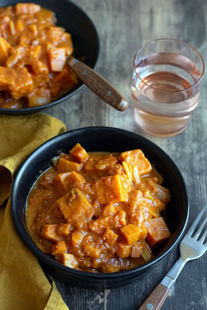 curry patate douce hiver