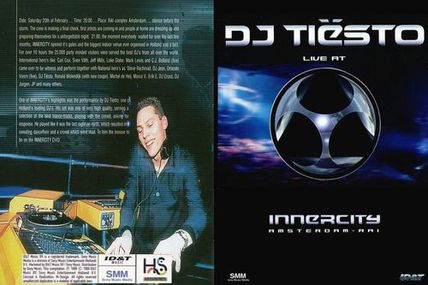 Tiësto DVD: Live at Innercity | 1999