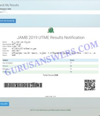 BEST JAMB EXPO RUNZ HELPDESK CENTER