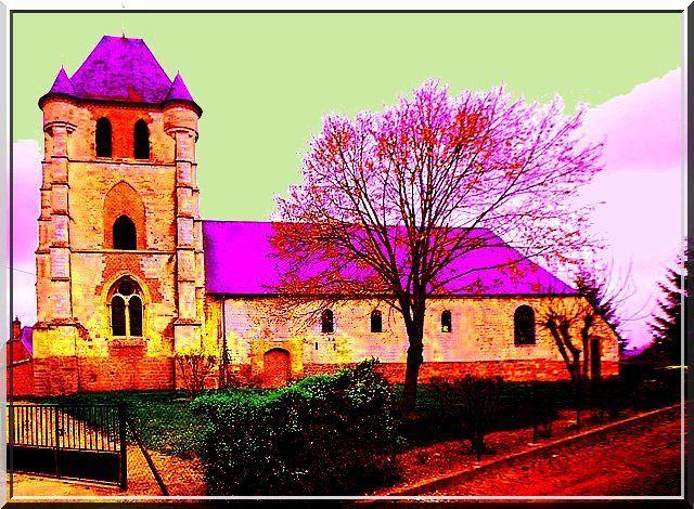 Diaporama de l'église fortifiée de Nouvion et Catillon